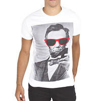 Guys 'ABE In Shades' Graphic Tee