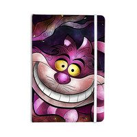 "Mandie Manzano ""Chesire Cat"" Pink Purple Everything Notebook"