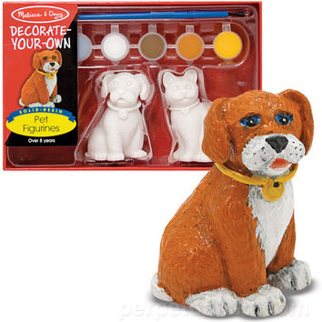 DECORATE YOUR OWN PET FIGURINES