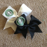 Cheerleader logo bow  by DaisyBowtique on Etsy