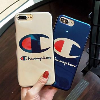 """Champion"" Phone Case For iPhone X  iPhone 8 Plus  iPhone 7 Plus"