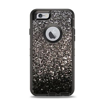 The Black Unfocused Sparkle Apple iPhone 6 Otterbox Defender Case Skin Set