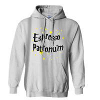 Harry Potter Espresso Patronum Hoodie for Mens Hoodie and Womens Hoodie *