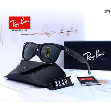 Ray-Ban 2019 new classic men and women color film large frame polarized sunglasses #4