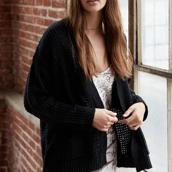 LA Hearts Shaker Stitch Pocket Cardigan at PacSun.com