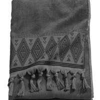 H&M Bath Towel with Embroidery $17.99
