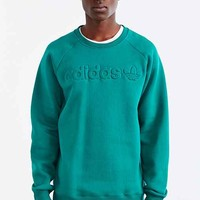 adidas Originals Premium Fleece Crew Neck Sweatshirt- Green