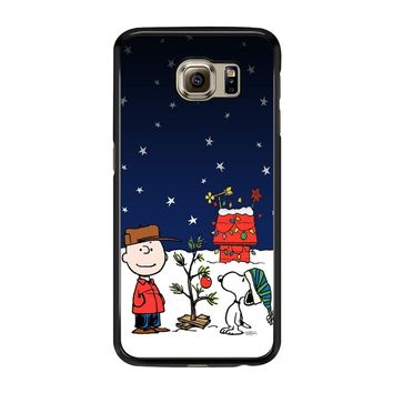 Charlie Brown Christmas Peanuts 001 Samsung Galaxy S6 Case