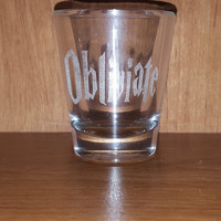 Harry Potter Inspired Obliviate Shot Glass ~ Memory Charm ~