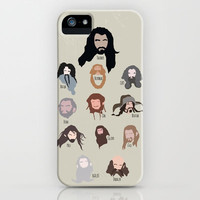 The Hobbit iPhone & iPod Case by Natasha Ramon