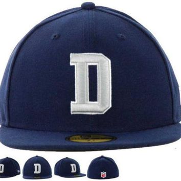 ESB8KY Dallas Cowboys New Era 59FIFTY NFL Football Hat D