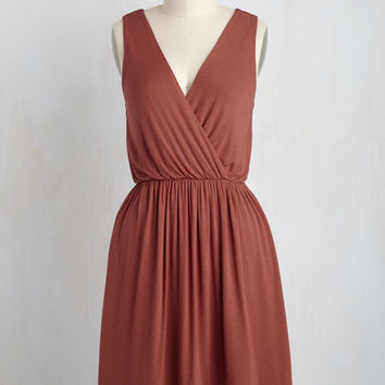 Sweet Leadership Dress in Clay | Mod Retro Vintage Dresses | ModCloth.com