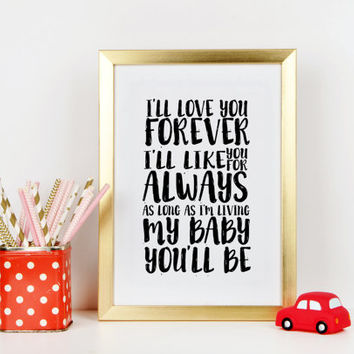 Nursery print Baby Boy Nursery Decor Boys Nursery Art Baby Boy Gifts for Boy Playroom Rules Decor Baby Nursery Decor Nursery Quote Art