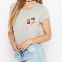 Fast Food Junkie Tee | Graphic Tees | rue21