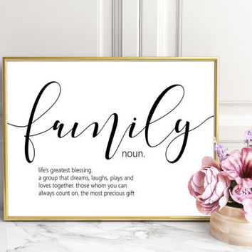 Definition Prints, Wall Art Prints, Quote Prints, Family Print,Friend Prints, Love Prints, Home Prints, Funny Prints, Friend Definition