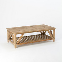 Bleached Pine Coffee Table