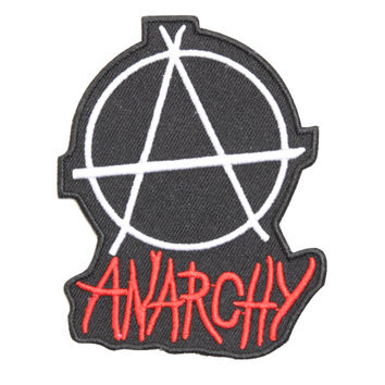Anarchy A Iron-On Patch