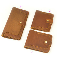 handmade genuine leather wallet purse cool best gift 43
