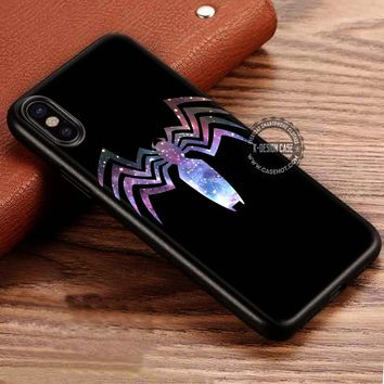 Venom Nebula Amazing Spiderman iPhone X 8 7 Plus 6s Cases Samsung Galaxy S8 Plus S7 edge NOTE 8 Covers #iphoneX #SamsungS8
