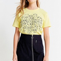 Urban Renewal Recycled Corduroy O-Ring Mini Skirt | Urban Outfitters