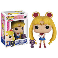 Sailor Moon with Luna Pop! Vinyl Figure