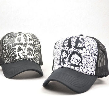 New Korean Baseball Cap Peaked Cap Hip-hop Style Hat Letter Hero Printing Adjustable Cap