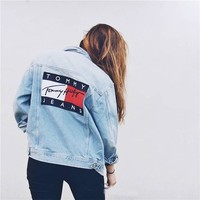Tommy Jeans For UO Boyfriend Denim Jacket One-nice™