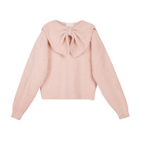 Hairy Knit Bow Jumper | Moda Operandi