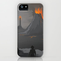 Lord Of The Rings iPhone & iPod Case by Ketizoloto