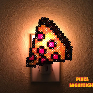Pizza Slice | Pizza Lover Inspired | Nightlight - Size Average