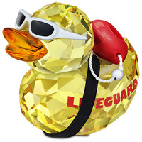 Happy Duck - Lifeguard - Figurines & decorations - Swarovski Online Shop
