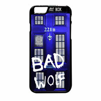 Tardis Box Sherlock Holmes Door 221B Bad Wolf iPhone 6 Plus Case