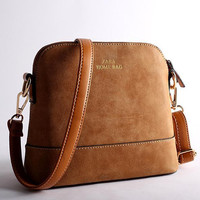 2014 new Retro nubuck leather handbags fashion ZA shell small square package women Shoulder Messenger Bag  hg0348