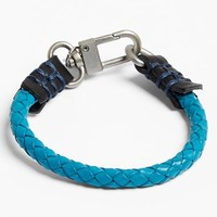 Men's Caputo & Co. Braided Leather Bracelet