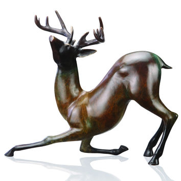 SPI Home Collection Contemporary Deer Sculpture
