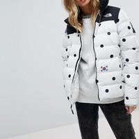 The North Face International Dot Print Padded Jacket at asos.com