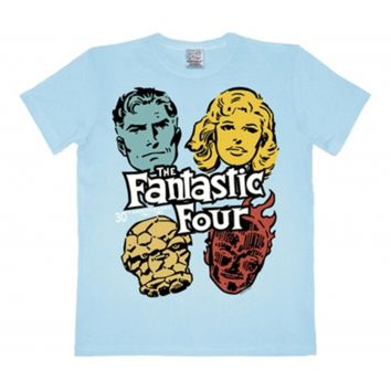 Marvel Comics mens T-shirt Fantastici 4