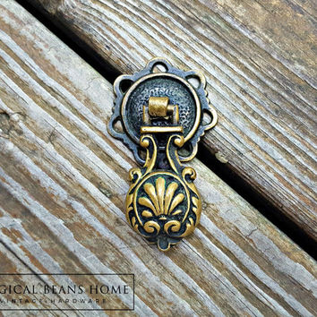 Victorian Dresser Pulls Neoclassical Furniture Teardrop Pulls Keeler Brass Co Decorative Dresser Hardware Antique Brass Drawer Pulls