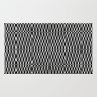 plaid hypnosis Rug by RichCaspian