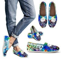Artistic Type Writer Casual Shoes