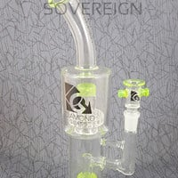 Top Shelf Water Pipe by Diamond Glassworks