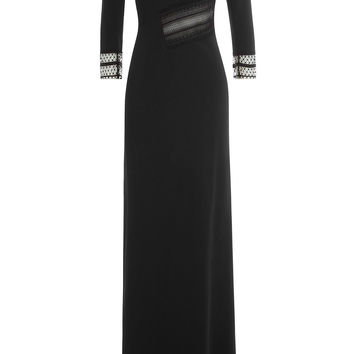 Asymmetric Dress with Lace - Roland Mouret | WOMEN | KR STYLEBOP.COM