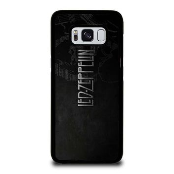 LED ZEPPELIN LYRIC Samsung Galaxy S3 S4 S5 S6 S7 Edge S8 Plus, Note 3 4 5 8 Case Cover