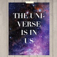 The Universe is in us OR The Universe is my church 8 by ByLucianaM