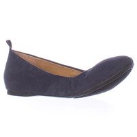 SC35 Vinniee Stretch Ballet Flats, Navy, 5.5 US