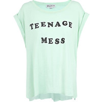 Wildfox Teenage Mess T-Shirt | Harrods