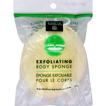 Earth Therapeutics Exfoliating Body Sponge - 1 Sponge
