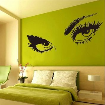 Audrey Hepburn Sexy Eyes Vinyl Wall Decal