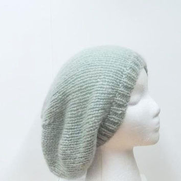 Slouchy hat, knitted, oversized beanie    5216
