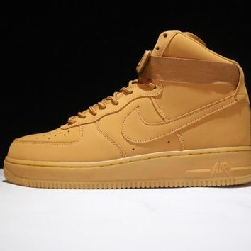 "Originals Nike Air Force One 1 High Mid '07 LV8 ""FLAX"" 806403-200"